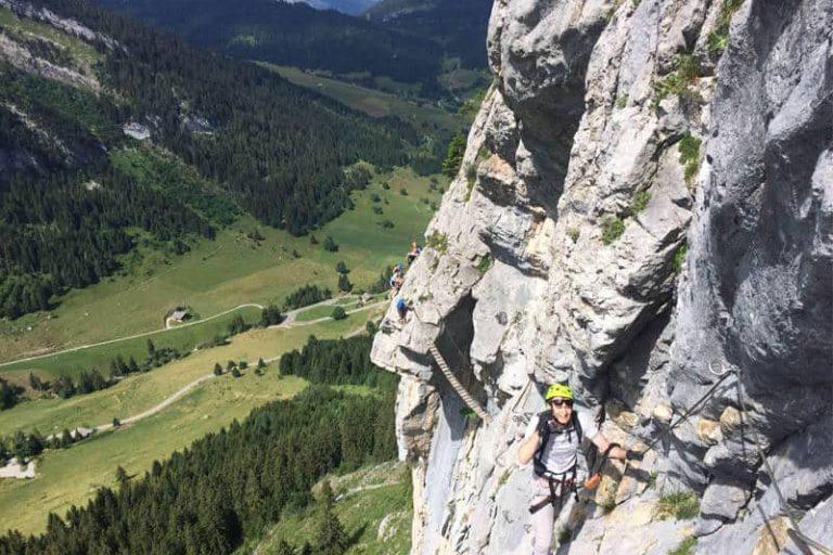 Страх высоты и Виа Феррата