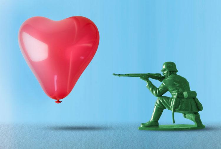 Резонанс энергии любви и насилия